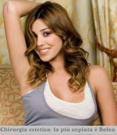 belen rodriguez | Belen Rodriguez, soubrette argentina e indiscussa regina del gossip ...