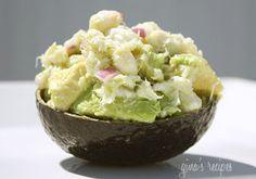 Clean Eating Recipe Box: Avocado and Crab Salad