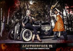 Leatherface IV feat. Leila Lipstique (2015) | by THE PIXELEYE // Dirk Behlau