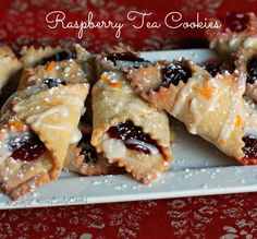 Raspberry tea cookies are a delicious sweet treat for any occasion. Since Valentine's Day is right around the corner these would be a delicious cookie for your favorite Valentine.