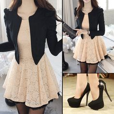 Lovely or not?  #dress #fashion #buytrends #heel #OL #style  #lady