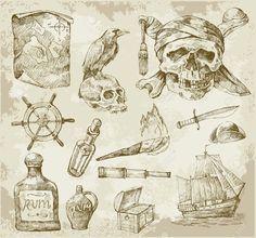 pirate treasure map cup - Google Search