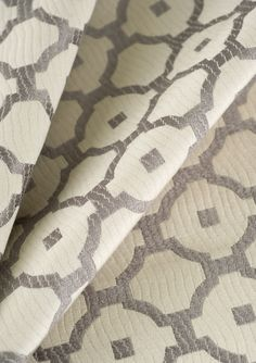 Pattern 02390 in Platinum from the Lifestyles By Color-Vol II collection. Trend Fabrics, Fabulous Fabrics, Fabric Patterns, The Hamptons, Color Pop, Sewing Projects, Bedroom Decor, Textiles, Grey