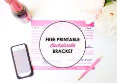 Oh Hello, Love: The 2014 Free Printable Bachelorette Bracket