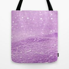 Glitter Pink Tote Bag by Alice Gosling - $18.00  ALL Tote Bags are now full bleed, printed both sides and available in 3 sizes #bag #glitter #sparkle #sparkling #glittery #pink