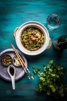 What To Cook Today: Singaporean lor mee (braised noodles). My favorite noodles when I lived in Singapore and I'm happy with this recipe Instant Pot Asian Recipes, Asian Noodle Recipes, Easy Asian Recipes, Indian Food Recipes, Chinese Recipes, Chinese Food, Pork Noodles, Asian Noodles, Pork Belly Slices