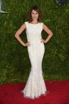 Jennifer Grey in Zac Posen - Best and Worst Dressed at the 2015 Tony Awards - Photos
