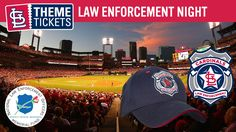 The St. Louis Cardinals and Major League Baseball are proud to team up with the National Law Enforcement Officers Memorial Fund for our Law Enforcement Appreciation Night at Busch Stadium. See the Cardinals take on the Toronto Blue Jays on Wednesday, April 26th at 7:15 p.m. With the purchase of a special Law Enforcement Theme Ticket, you will receive an exclusive Cardinals Law Enforcement hat.