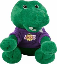 Los Angeles Lakers Plush Baby Alligator by Forever Collectibles. $12.99