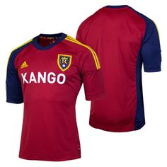 0f881363f4f Adidas Real Salt Lake 2012 2013 Home Jersey. RSL tasted championship  victory with the