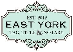 Hope Wallace | East York Tag, Title & Notary Logo Design