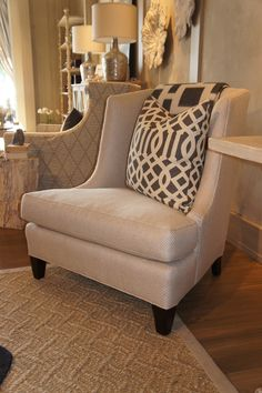 Wesley Hall Upholstered Wing Chair