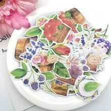 26 piezas kawaii creativo hecho a mano flores hermosas Pegatinas/etiqueta decorativa/DIY craft álbumes de fotos(China)