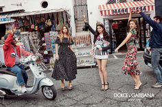 Zendaya, Sonia Ben Ammar, Thylane Blondeau shot in Capri by Franco Pagetti for Dolce&Gabbana SS17 Women Advertising Campaign. #DGMillennials #DGCapri #DGCampaign #DGSS17