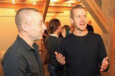 Paneldeltager Søren Storm Hansen (dSeneste.dk) og dagens ordstyrer Rune Huvendick.