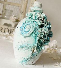 Wild Orchid Crafts: Blue Bottle More
