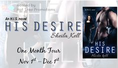 Crazy Four Books : Review and giveaway for HIS Desire by Sheila Kell