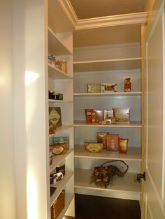 Dream walk in pantry!