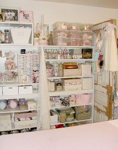 A beautiful and organized studio