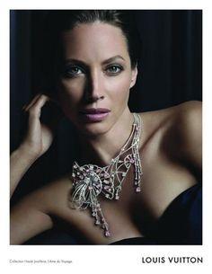 Christy Turlington for Louis Vuitton Haute Joaillerie