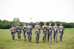 July 20th 2013 | Salt & Light Photography - Groom and groomsmen super hero, superman, marvel, DC, batman, fun photo.