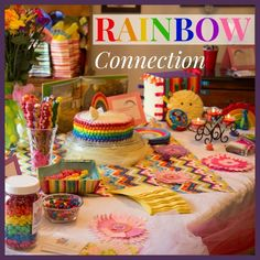 Shower of Roses: Rainbow Connection: A Baby Shower for Kristin