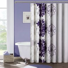 Image Result For Purple Walls Curtain Color