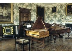 Music Room, Holdenby House.