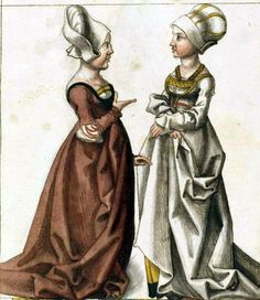 Book Illustration 16th Century.  A white gown!