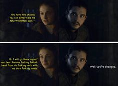 Jon and Sansa - 0604