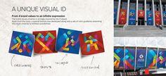 Elementos da Identidade Visual  / Event Identity - Copa America 2015 #Brand #Design