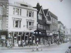 Calverley Road pre-Royal Victoria Place in this undated picture. Old Photos, Vintage Photos, Camden Road, Tunbridge Wells, England, Street View, London, Places, Pictures