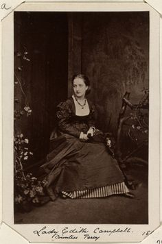 Lady Edith Campbell (Countess Percy). [Photographs, English Portraits. Volume 70.]