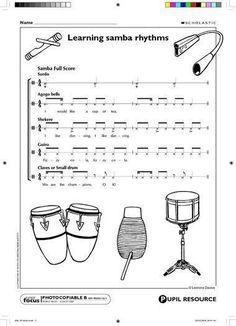 samba rhythm!