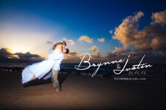 Chris J. Evans Photography Maui Wedding Sunset. www.cjevansphotography.com