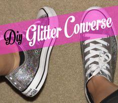 Madame LaTour | DIY Glitter Converse