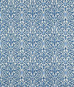 P/K Lifestyles Srilanka Indigo Fabric | onlinefabricstore.net
