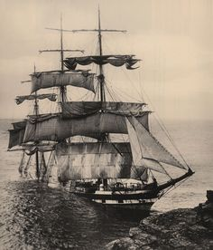 Sinking: A British built iron sailing barque, The Cromdale, ran into Lizard Point, the most southerly point of British mainland, in thick fog. The three-masted ship was on a voyage from Taltal, Chile to Fowey, Cornwall with a cargo of nitrates. There were no casualties but within a week the ship had been broken up completely by the sea.