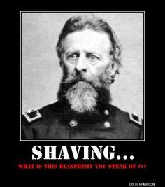 beards, manly , no shave , beard humor , razor ,