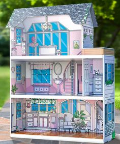 Take a look at this Pink Dream Dollhouse by toy evolution on #zulily today!