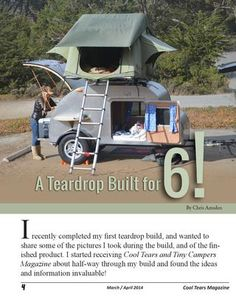 ISSUU - Cool Tears and Tiny Campers Magazine - March / April 2014 by Cool Tears and Tiny Campers Magazine