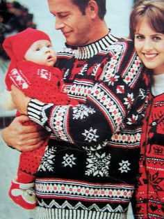 VINTAGE knitting pattern pdf, Fair Isle large Christmas stocking ...