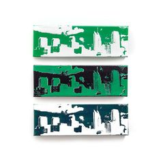Philadelphia Skyline Canvas Set of 3 Eagles Edition by iNKthePRINT
