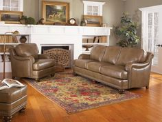 38810LEATHER in by Smith Brothers Furniture in Bowling Green, KY - Sofa