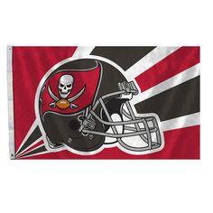 Tampa Bay Buccaneers Flag 3x5 Helmet Design