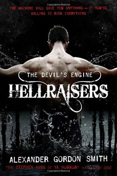 The Devil's Engine: Hellraisers by Alexander Gordon Smith. Marlow Green is a high school boy in New York who is always in trouble for vandalism and acting out, until one day he stumbles into the middle of a battle with a demon, and learns about The Devil's engine--an ancient machine which can grant anything you wish for, in exchange for your soul. 1/13/17 Young Adult Fiction