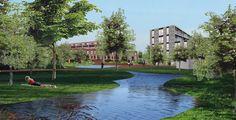 Meervoudige opdracht voor stedenbouwkundige visie op de realisatie van 120 woningen naast het station Barendrecht, i.o.v. Kristal (2007)