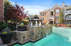 Beat the Georgia heat and relax by the The Artisan Luxury Apartment Homes in are invited to enjoy all our Luxury Apartments, The Neighbourhood, Atlanta, Georgia, Artisan, Relax, Tours, Mansions, House Styles