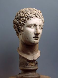 Head of an Athlete. 4th.century BC. Roman copy of a Greek original. marble. Hermitage Museum. http://hadrian6.tumblr.com