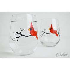 Cardinal Stemless W*ne Glasses